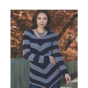 Bianca Nygard Striped Sweater Dress